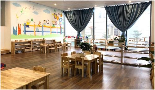 Trường mầm non Little Dream có cơ sở vật chất đầy đủ, không gian học tập thoáng rộng