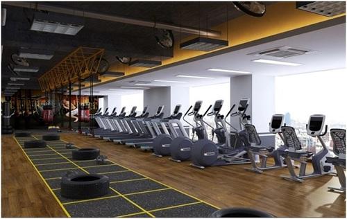 Phòng tập Gym Vital Fitness đẳng cấp dự kiến khai trương vào tháng 4/2018.