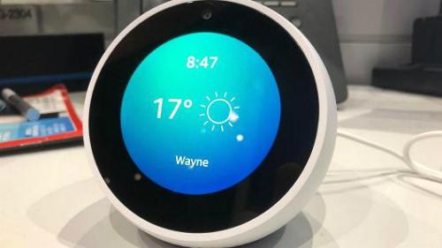 Amazon Echo có thể hiển thị thời tiết.