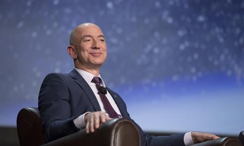 Bezos đã có thêm gần 40 tỷ USD từ đầu năm ngoái. Ảnh:Bloomberg