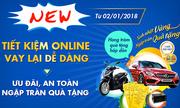Cơ hội trúng ôtô khi gửi tiết kiệm online trên Ví Việt