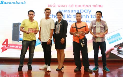 Danh sách khách hàng trúng thưởng Giải Nhì được đăng tải trên website khuyenmai.sacombank.com.