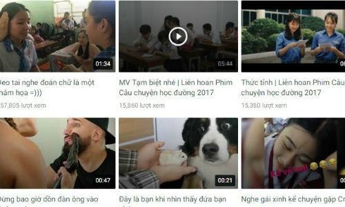 Ra mắt ứng dụng 'Youtube Việt'