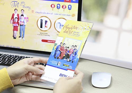 BIDV ưu đãi khách chuyển tiền kiều hối qua Western Union