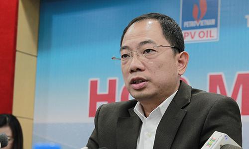 Ông Cao Hoài Dương - Tổng giám đốc PVOil kỳ vọng sự tham gia của nhà đầu tư chiến lược sẽ giúp doanh nghiệp này thay đổi quản trị, phát triển và mở rộng mạng lưới 1.000 cây xăng bán lẻ trong 5 năm tới. Ảnh: Anh Tú