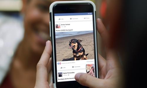 Bài viết của người thân, bạn bè được ưu tiên hiển thị trên Bảng tin người dùng. Ảnh: Digital Trends