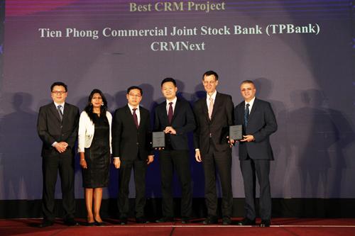 PBank là ngân hàng dành được nhiều giải thưởng nhất trong các hạng mục liên quan đến ngân hàng số do TAB trao tặng