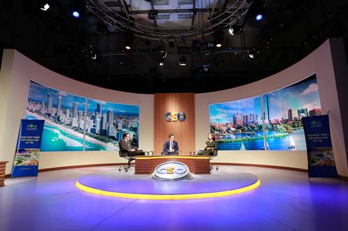 Anh Trần Trọng Hùng tham gia chương trình CEO - Chìa khoá thành công trên VTV1 (Chương trình do Đài truyền hình Việt Nam phối hợp với Hoàng Gia Media Group và Tập đoàn Novaland thực hiện).