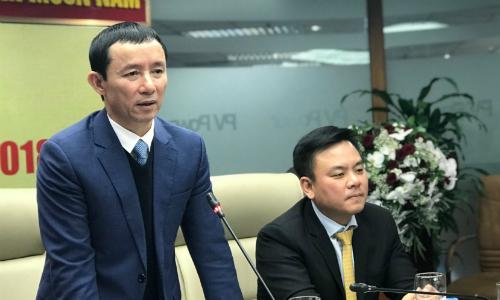 Ông Hồ Công Kỳ - Chủ tịch PVPower cho rằng, mức giá khởi điểm 14.400 đồng một cổ phiếu của doanh nghiệp là mức hợp lý, đã được đơn vị tư vấn tính toán kỹ càng. Ảnh: Hoài Thu