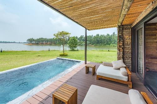 Lakeview Villa - Biệt thự hướng hồ thơ mộng, thân thiện với môi trường; hotline: 098 800 2323.