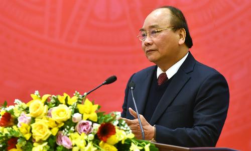 Thủ tướng Nguyễn Xuân Phúc cho rằng, Bộ Công Thương đã biết gạt bỏ lợi ích, vượt lên chính mình để cải cách. Ảnh: VGP