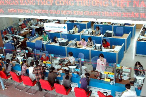 Lợi nhuận trước thuế của VietinBank đạt 9.206 tỷ đồng.