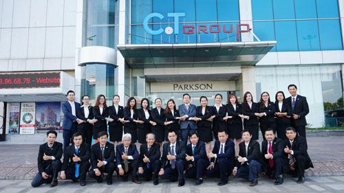 Đội ngũ nhân viên của C.T Group.
