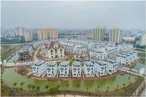 Dự án Vinhomes Riverside - The Harmony có mật độ xây dựng 21% trên tổng diện tích 97,6ha.