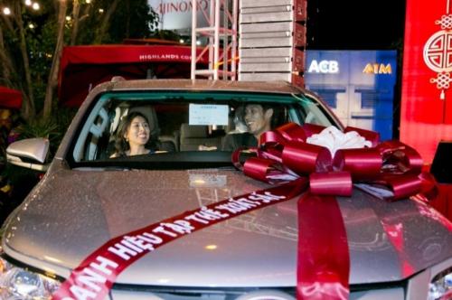 Hàng năm khiTết đến xuân về, tập đoàn C.T Group tặng xe ô tô, phiếu tích lũy an sinh và nhiều phần thưởng giá trị cho cán bộ nhân viên xuất sắc. Ảnh: C.T Group.