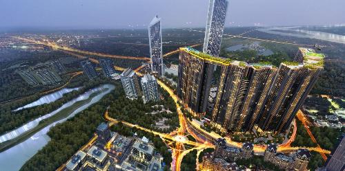 Các dự án Sunshine Group có tổng mức đầu tư lên tới gần 20.000 tỷ đồng.