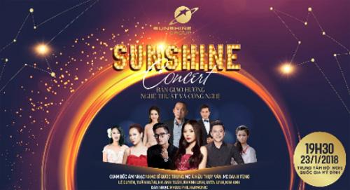 Sunshine Concert được kỳ vọng sẽ là một trong những sự kiện đáng mong chờ nhất dịp đầu năm.