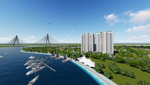 Phối cảnh dự án Samsora Riverside.
