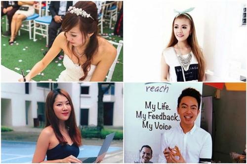 Những người được chọn đều có số người theo dõi hơn 1.000 trên Instagram. Ảnh: Strait Times