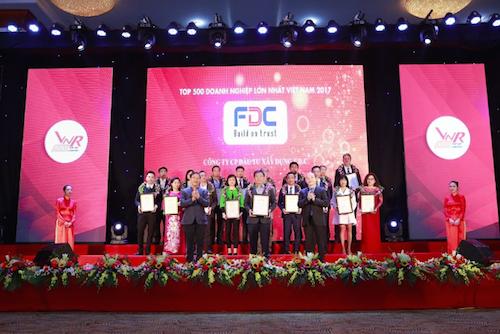 Nhà thầu FDC vào top 500 doanh nghiệp tư nhân lớn nhất Việt Nam