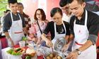 Hàng nghìn người tham gia nấu ăn tại siêu thị Co.opmart