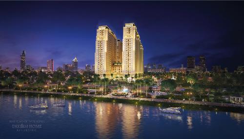 Ngày 27/1, chủ đầu tư Nhà Mơmở bán Tháp Emerald thuộc dự án Dream Home Riverside.