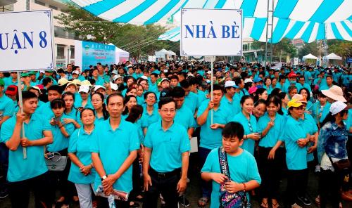 Công ty Phú Mỹ Hưng quyên góp hơn ba tỷ cho người nghèo