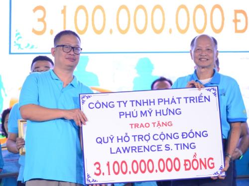 Công ty Phú Mỹ Hưng quyên góp hơn ba tỷ cho người nghèo - 6