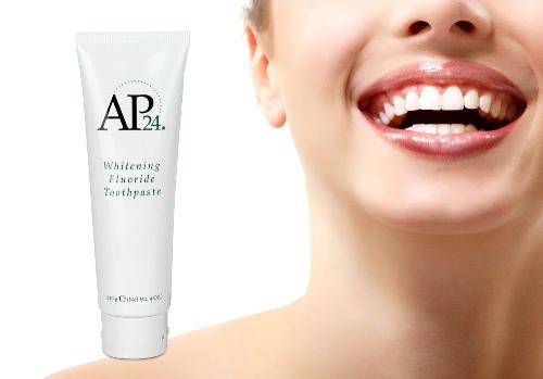 Những ưu điểm của kem đánh răng trắng sáng AP24