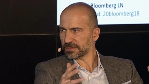CEO Uber - Dara Khosrowshahi đang cố gắng lèo lái công ty. Ảnh: Bloomberg