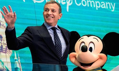 CEO Disney - Bob Iger trong một sự kiện của công ty. Ảnh: AFP