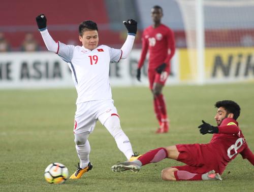 Quang Hải góp công lớn giúp U23 Việt Nam vào chung kết. Ảnh: Anh Khoa.