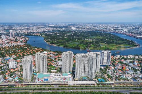 Toàn cảnh dự án Masteri Thảo Điền, quận 2, TP HCM.