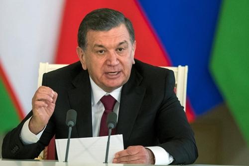 Lãnh đạo mới của Uzbekistan -Shavkat Mirziyoyev. Ảnh: Reuters