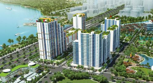 Hình ảnh New City nhìn từ trên cao.