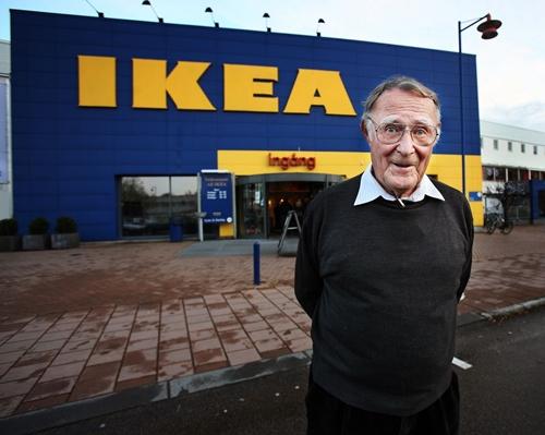 Ingvar Kampradlà một trong những nhàbán lẻ được yêu mến nhất trên thế giới. Ảnh: Aftonbladet