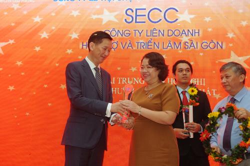 Trung tâm Hội chợ & Triển lãm Sài Gòn (SECC) đang trên đà phát triển.