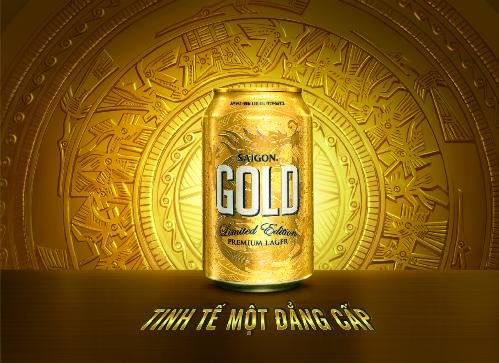 Saigon Gold gây ấn tượng người dùng bởi thiết kế sang trọng cùng chất lượng thơm ngon.
