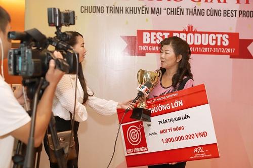 Nữ chủ nhân giải thưởng sẽ dùng số tiền một tỷ đồng vào những việc có ý nghĩa cho gia đình.
