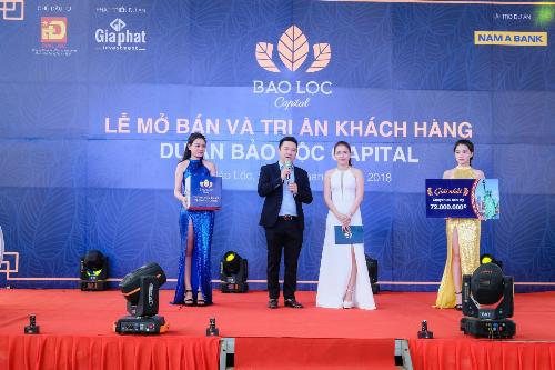 Hơn 300 khách hàng dự lễ mở bán và tri ân dự án Bảo Lộc Capital
