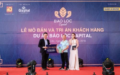 Hơn 300 khách hàng dự lễ mở bán và tri ân dự án Bảo Lộc Capital - 1