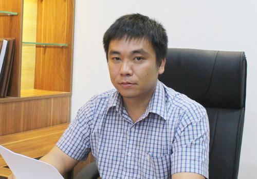 Anh Trần Mạnh Hoàn, Tổng giám đốc Công ty TNHH Hoa Viên Bình An, chấp nhận hụt thu nhập để tập trung vào dự án công viên nghĩa trang.