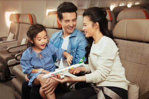 Eva Air là hãng hàng không 5 sao được nhiều doanh nhân và Việt Kiều yêu mến, tin tưởng cho những chuyến du hành xa.