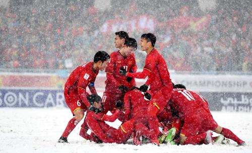 Khách hàng có cơ hội giao lưu với tuyển U23 Việt Nam. Chi tiết xem tại website: www.scb.com.vn hoặc hotline 1900 6538. Ảnh: OS.