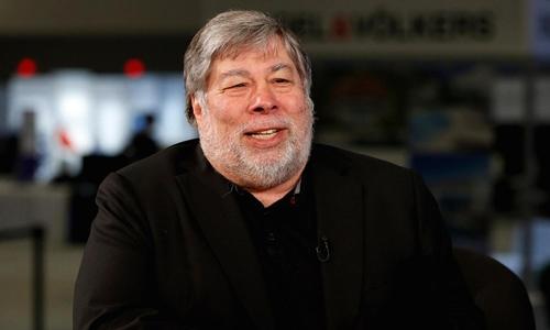 Steve Wozniak đã bán gần hết Bitcoin. Ảnh: CNBC
