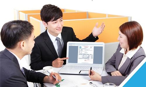 Khách hàng tra cứu hóa đơn điện tử tại website của dịch vụ S-Invoice.