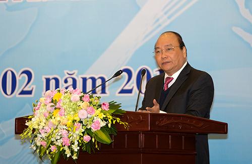 Thủ tướng cho rằng, tham tán thương mại cần loại bỏ tư duy nhiệm kỳ, e ngại việc khó trong công việc của mình. Ảnh: VGP
