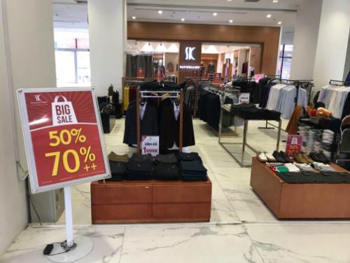 Cơn lốc giảm giá 70% đến từ thương hiệu thời  trang cao cấp San- kelloff
