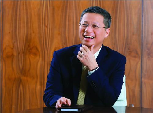 Ông Nguyễn Lê Quốc Anh hiện là CEO của Ngân hàng Kỹ thương Việt Nam (Techcombank).