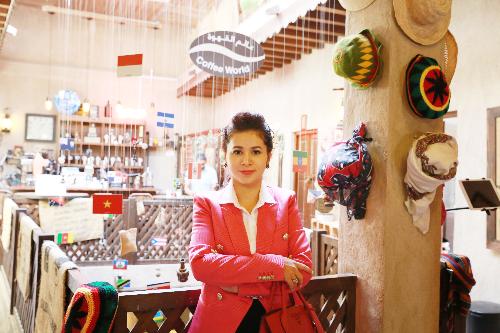 Bà Lê Hoàng Diệp Thảo - Nhà sáng lập thương hiệu King Coffee.